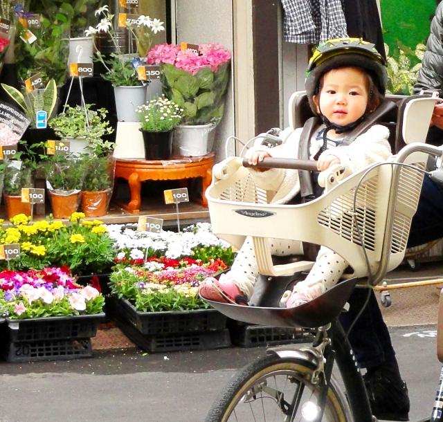 子ども乗せ自転車 安全に利用しよう